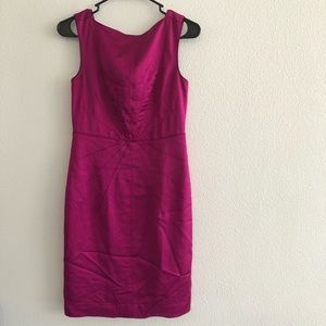 Banana Republic Purple Sheath Dress Women's 2